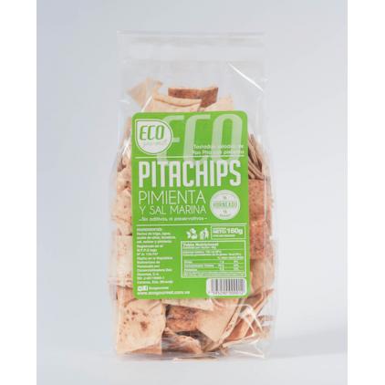Pita Chips Sal Marina y Pimienta