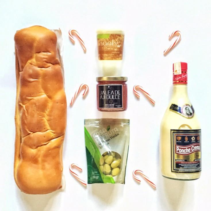 Pan de Jamon y Ponche