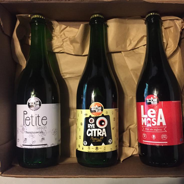 Pack Cervezas Artesanales