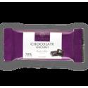 Caja de 12 tabletas de chocolate oscuro 70% ZISNELLA